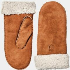 Hestra - Sheepskin Mitt - Handschoenen maat 7 bruin/oranje/wit