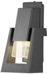Konstsmide Buitenlamp 'Potenza' Wandlamp, PowerLED 1 x 4W / 230V, kleur Antraciet