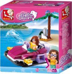 Sluban Bouwstenen Girls Dream Serie Hovercraft Bouwstenen Girls Dream Serie Hovercraft
