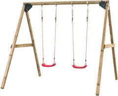 Beige SwingKing Swing King schommel Lucy dubbel - 270cm