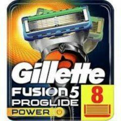 Gillette Fusion Proglide Power 8pc Replacement Blade