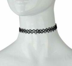 NiSy.nl Sieraden - Ketting - Choker - Tattoo - Zwart