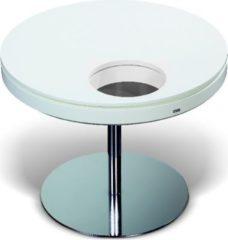 Esprit Tisch rund 65 cm weiss/ anthrazit lackiert Esprit Home Neo