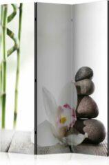Groene Kamerscherm - Scheidingswand - Vouwscherm - Harmony [Room Dividers] 135x172 - Artgeist Vouwscherm