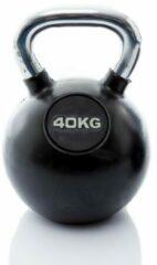 Muscle Power Rubberen Kettlebell - 40 kg