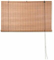 Xenos Rolgordijn bamboe - lichtbruin - 150x180 cm