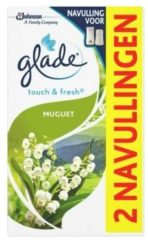 Glade BY Brise Touch & fresh navul muguet 10 ml 2x10 Milliliter