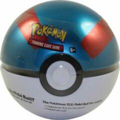 The Pokemon Company International Pokemon Pokeball tin 2021 Great Ball - Pokemon kaarten