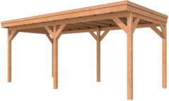 Woodvision Westwood Buitenverblijf fijnbezaagd | 600 x 300 cm | Onbehandeld