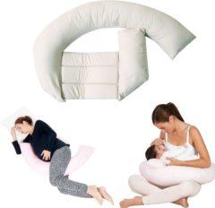 Witte Baby Jem Babyjem Washandje - Multifunctioneel Voedingskussen