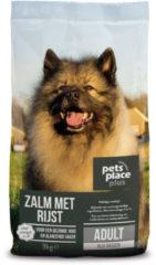 Pets Place Plus Hond Adult Zalm - Hondenvoer - 3 kg - Hondenvoer