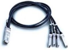 Zwarte Dell 40-Gigabit Ethernet Direct Attach Cable
