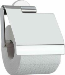 Roestvrijstalen Tiger Boston toiletrolhouder klep RVS glans CO309130346