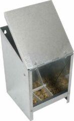Olba Voerautomaat met deksel - vogel - metaal - 2,5kg