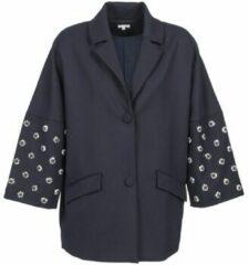 Blauwe Mantel Manoush CABOCHON