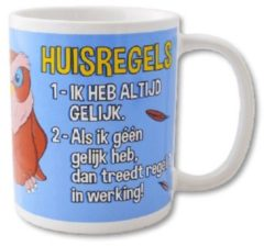 Paperdreams Funny Mugs 27- huisregels
