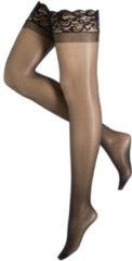 EDC gecensureerd Leg Avenue lingerie kousen s/l - zwart
