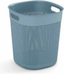Kis Filo - Mand - Misty Blue -16 Liter - D28xh32cm - (set van 4) En Yourkitchen E-kookboek - Heerlijke Smulrecepten