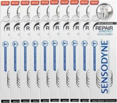 10 x Sensodyne Repair & Protect Whitening - 75 ml - Tandpasta