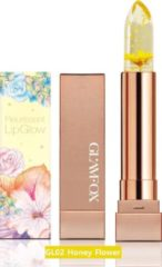 GLAMFOX - Honey Flower Lipstick – Lippenstift - 24K Goud – Lip Plumper - Long Lasting Lipstick – Lippenbalsem - Make-Up – Korean Skincare