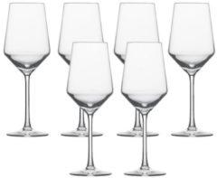 """Schott Zwiesel 112412 """"Pure"""" Weißweinglas / Sauvignonkelch, 408 ml, H 23,2 cm, klar (1 Stück)"""