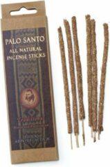 Bruine Vegan wierookstokjes Palo Santo, Traditional, Prabhuji's Gifts, 6 sticks