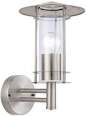 Grijze Eglo 30184 Outdoor wall lighting E27 60W Roestvrijstaal buitenverlichting