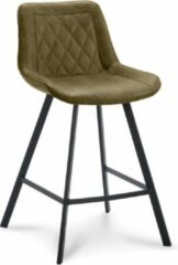 Happy Chairs - Barkruk Xavi ZH65 - Bull Mosgroen