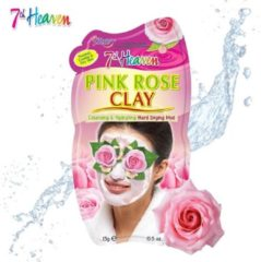 7th Heaven Gezichtsmasker - Pink Rose Clay