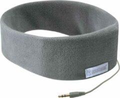 Sleepphones Koptelefoon Classic Fleece Polyester/spandex Grijs Maat L/xl