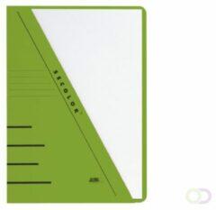 Bruna Insteekmap driehoeksmap Jalema Secolor A4 groen