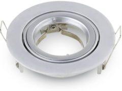 Zilveren V-TAC Jose GU10 Armatuur IP20 Kantelbaar aluminium