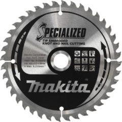 Zilveren Makita B-09444 Zaagblad TipE 235mm.
