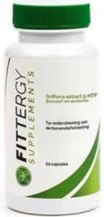Fittergy Supplements - Griffonia simplicifolia extract 5-HTP - 60 capsules - Kruiden - voedingssupplement
