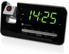 Zwarte Smartwares Klokradio Projectie CL-1492