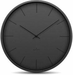Huygens - Tone Index 35cm - Zwart - Wandklok - Stil - Quartz uurwerk