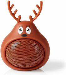Nedis SPBT4110BN Animaticks Bluetooth Speaker 3 Uur Speeltijd Handsfree Bellen Rudy Reindeer