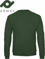 Merkloos / Sans marque Senvi Basic Sweater (Kleur: Groen) - (Maat M)