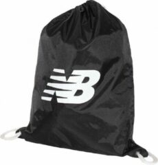 New Balance Cinch Sack LAB91039BK, Unisex, Zwart, Sporttas maat: One size