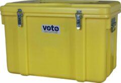 Gele Little Jumbo Kunststof kist polyethyleen 120 liter 700×450×450 mm (LxBxH)