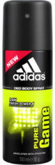 Adidas For Men Deo Body Spray Pure Game