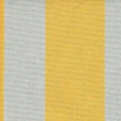 Gele Acrisol Listado Amarillo 14 stof per meter buitenstoffen, tuinkussens, palletkussens