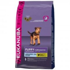 Eukanuba Growing Puppy Large Breed Kip - Hondenvoer - 12 kg - Hondenvoer