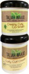 Taliah Waajid Taliah Comb Curly Curl Cream en Taliah Co-wash (473 ml)