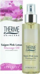Therme Massage Olie Saigon Pink Lotus (125ml)