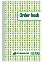 Exacompta Zelfkopiërend orderboek Wit Gelinieerd 135 x 210 mm 50