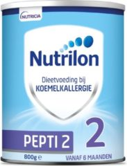 Witte Nutrilon Pepti 2 - vanaf 6 maanden - Flesvoeding - 800 gram