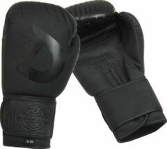 Zwarte Dynamite Fight Gear Dynamite Kickboxing Bokshandschoenen - Synthetisch Leer 16 OZ