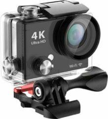 Zwarte EKEN H9R Actioncam | 4K UltraHD | Sandisk Class 10 16GB microSD-kaart + Extra Accu
