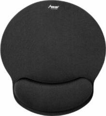 Zwarte Mad Giga MADGIGA Ergonomische Muismat - Comfortabele traagschuim muismat - Zacht en Ergonomisch - Voor op kantoor, gamen etc.